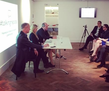 Malcolm Murray speaks at seminar for entrepreneurs
